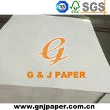 La pulpa de color blanco doble cara posterior de la junta de papel para el Envasado y embalaje