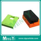 Часть прессформы изготовленный на заказ зеленого померанцового черного машинного оборудования пластичная