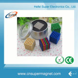 216 magnete sferico magnetico delle sfere 5mm del neodimio con il rivestimento del nichel
