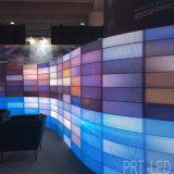 Affichage LED incurvée Die-Casting aluminium panneau avec dispositif de réglage de l'angle pour P3.91, P4.81, P5.95, P6.25
