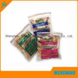 Wiederversiegelbarer verpackenbeutel-Verpacken- der Lebensmittelbeutel für Abnehmer gedruckten Reißverschluss-Beutel