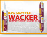 RTV che cura il sigillante del silicone per la parete di alluminio strutturale