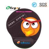 Ergonomic 3D Projetado Pad impressão personalizada Gel descanso de pulso mouse