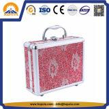 미러 (HB-2046)를 가진 보석 장식용 상자