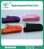 Algodão Pilates Stretch Yoga Strap Yoga Mat Carry Sling Yoga Strap D-Ring Belt