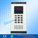 Contrôle de sécurité Sonnette interphone Système d'interphone pour Excelltel PBX