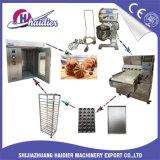 De volledige Machine van het Baksel van de Bakkerij voor het Brood van de Hamburger van de Toost van het Brood van de Croissant