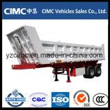 Cimc U 모양에 입방 반 3개의 차축 팁 주는 사람 덤프 트레일러 30