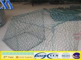 Materasso rivestito 1X1X0.5m del PVC Gabions