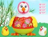 Kind-pädagogisches kleines Huhn-Baby-Plastikspielzeug