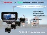 7インチ2.4glデジタルの無線カメラシステム