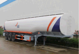 3axles BPW 45000liters Tanker-Schlussteil