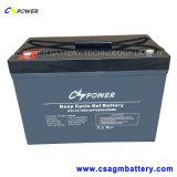 Gedichtete Marinebatterie Cspower Gel-tiefe Schleife-Batterie 12V 250ah