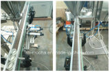 Llenador seco semi automático del taladro de la máquina de rellenar del polvo de la harina