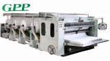 Máquina de linha de produção automática de tecido facial de alta velocidade