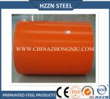 Оранжевый цвет PPGI