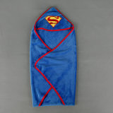 El azul de bebé del supermán Swaddle me abrigo de Summer - grande