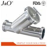 Filtro de filtro de filtro sanitário com linha