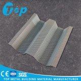 Personnaliser le panneau ondulé par aluminium pour le revêtement de mur de maille en métal