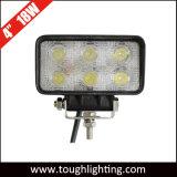 LED 헤드라이트 유형 4 인치 18W 정연한 LED 일 램프