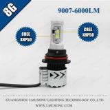 Heißer des Verkaufs-35W 6000lm 8g Scheinwerfer-Selbstscheinwerfer-Installationssätze Auto-des Licht-9007/Hb5 LED