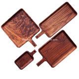 Rectángulo de madera modificado para requisitos particulares exquisito del vino de la venta del estilo fresco de lujo caliente de Escocia