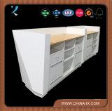 木の現代レセプションのカウンターのオフィス用家具