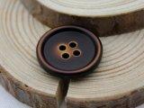 高級な4つの穴ポリエステル樹脂ボタン