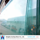 Vidro temperado curvado/curvado para a mobília/vidro do edifício com Ce