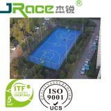 La cour de badminton antidérapante de basket-ball folâtre la surface de plancher