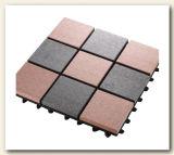 Легкая установленная плитка Decking плитки Decking WPC составная пластичная