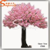 Árbol de cerezos en flor artificial decorativo