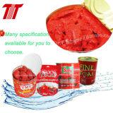 Pasta de tomate em conserva com alta qualidade e Brix em 28-30