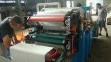 Máquina de papel de alta tecnología de tejido de la servilleta de la cena que graba