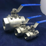 La Turchia Type Stainless Steel 2PC Ball Valve con BACCANO
