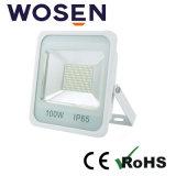 12 serie di 100W SMD Refond LED dell'indicatore luminoso di inondazione quadrato con Ce RoHS SAA