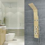 Robinet de douche rectangulaire en forme de douche avec poignée unique