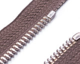 Zipper do metal com fita de Brown e extrator da fantasia/qualidade superior