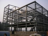 다층 가벼운 강철 구조물 건축 음식 작업장 프레임 (KXD-SSW49)