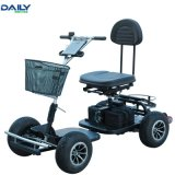 Einfacher Falz-beweglicher elektrischer Strom-Golf-Karren-Einzelsitz mit 24V 1000W Motor