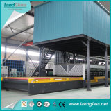 Horizontal Landglass Forced Convection Knell Tempering Furnace