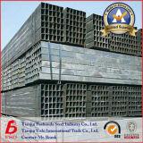 Quadrat-Schwarz-Stahlrohr der Schweißungs-Q235