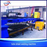 Bock-Gefäß-Blatt-Platte CNC-Plasma-Flamme-Ausschnitt-Maschine China