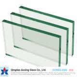 Alta calidad vidrio de flotador claro de 3 - de 19m m para el vidrio del edificio