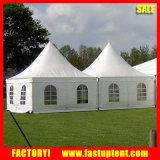 Tentes transparentes imperméables à l'eau de Gazebo de mariage d'usager de chapiteau de pagoda pour des événements, Car Show