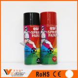 Efecto de cromo de varios colores de pintura en aerosol de pintura en spray
