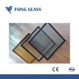 Temperado e laminado temperado Glazeing duplo baixo e painéis de vidro de construção