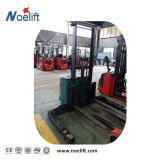 Carro eléctrico del apilador/con la plataforma/Recorrer-Detrás de/transporte 1500kg 2000kg del jinete con la abrazadera de papel del rodillo
