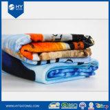 Pleine couleur 100% coton d'impression réactive des serviettes de plage