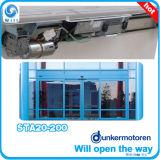 Vidro corrediço de porta de vidro automático usado vidro Comercial Operador de porta corrediça